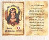 img - for St. Philomena Relic Prayer Card book / textbook / text book