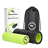 2-in-1 Foam Rollers *The BEST QUALITY foam rollers available! *Unique Targeted massage for Painful, Tight muscles + Smooth Roller for injury rehab! *FREE USER E-BOOK + EAT FIT GUIDE *FREE CARRY CASE!