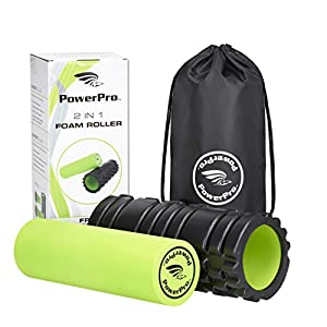 2-in-1 Foam RollersThe BEST QUALITY foam rollers available!Unique Targeted massage for Painful, Tight muscles + Smooth Roller for injury rehab!FREE USER E-BOOK + EAT FIT GUIDEFREE CARRY CASE!