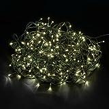 LED-Gigant 600 Lichterkette Innen / Außen Weihnachten Gartenbeleuchtung, 50 m, warmweiß 8215002836