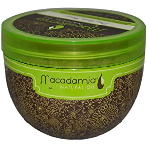 Macadamia Oil Deep Repair Mask, 8.5 ounces Jar