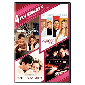 Romance Collection: Four Film Favorites (Music & Lyrics / Rumor Has It… / Sweet November2001 / Lucky You)