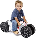 Prince Lionheart YoMOTO Ride - On Bike, White/Red