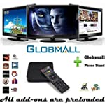 Globmall Android TV Box, Fully Loaded...