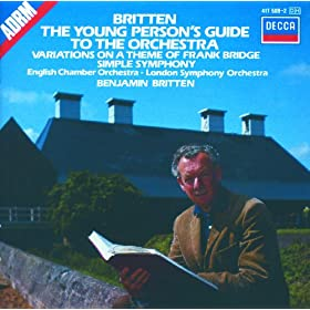 Britten: Simple Symphony, Op.4 - 3. Sentimental Saraband
