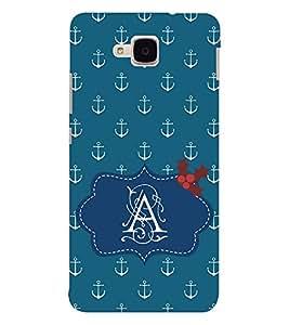EPICCASE anchor of A Mobile Back Case Cover For Huawei Honor 5c (Designer Case)