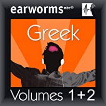 Rapid Greek: Volumes 1 & 2 Audiobook by Earworms Learning Narrated by Marlon Lodge