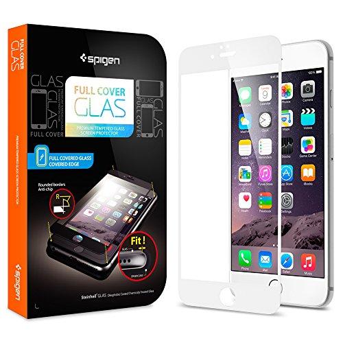 iPhone6 plus 全面強化ガラスフィルム, Spigen®  撥油加工