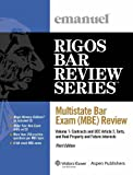 Multistate Bar Exam (MBE) Review Volume 1 2009 Edition