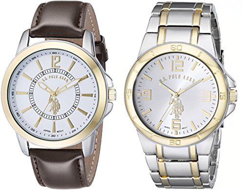 us-polo-assn-classic-mens-usc2254-set-of-two-two-tone-watches