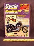 1986 86 December CYCLE Magazine (Features: Road Test on Honda CB450SC / CB 450 SC Nighthawk & Cagiva 650 Elefant)