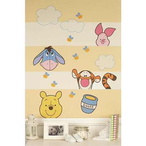 Disney Baby - Peeking Pooh Nursery Wall Decals