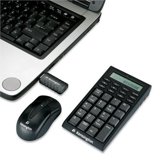Kensington Wireless Notebook Keypad/Calculator and Mouse Set 72273