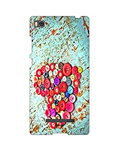 AANADI - Hard Back Case Cover for Xiaomi Mi4i - Superior Matte Finish - HD Printed Cases and Covers