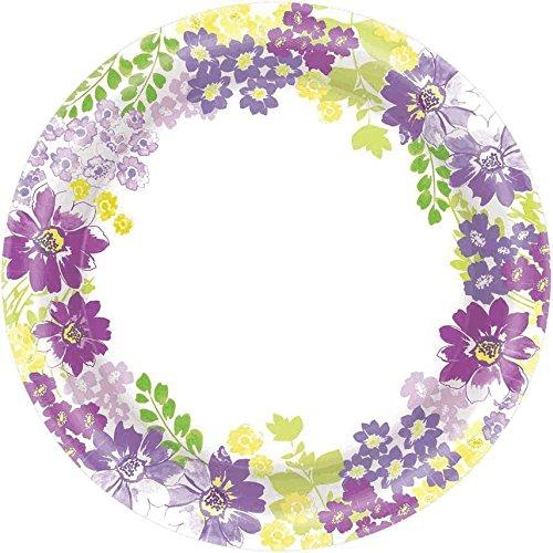 """plt 6.75"""" 40ctblooming florals"""