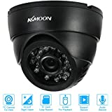 Alcoa Prime CCTV Security Surveillance DV DVR Dome Camera 0. 3MP VGA 24 LEDs Night Vision USB Disk PC Cam Support...