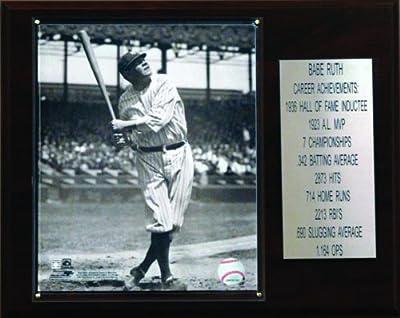 MLB Babe Ruth New York Yankees Career Stat Plaque