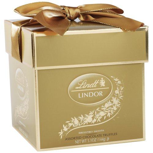Lindor Truffles, Assorted Token Gift Box, 5.1-Ounce Package