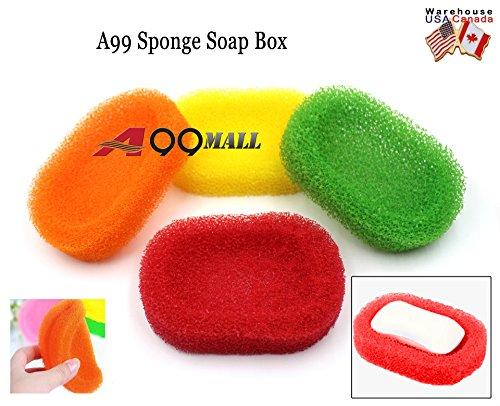 4pcs-bathroom-kitchen-creative-mesh-sponge-soap-dish-holder-box-shower-washing-hotel