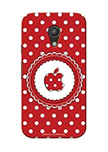 Sowing Happiness Printed Back Cover For Motorola Moto G2