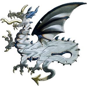 Angry Dragon Design Metal Wall Art from Richard Pell Creative Metalwork