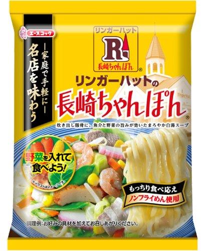 エースコック リンガーハットの長崎ちゃんぽん(袋) 117g×12個 -