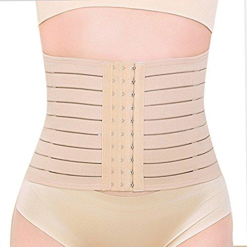 aivtalk-femme-corset-serre-taille-minceur-amincissant-bustier-latex-ventre-ceinture-ajustable-beige-