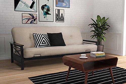 dhp-nadine-metal-futon-frame-with-espresso-wood-armrests-full