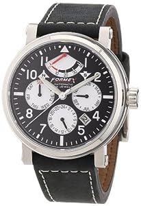 Formex 4 Speed 485.2.5320 - Reloj analógico automático para hombre con correa de piel, color negro