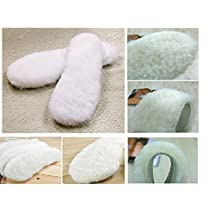 US Size 5-12 Women 100% Real Sheepskin Insoles Replacement for Shoes/UGG Boots/EMU Boots/RainBoots (US Women Size 9)