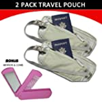 Travel Pouch Compact Security/ Hidden...