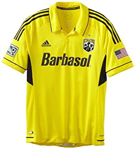 MLS Columbus Crew Short Sleeve Authentic Jersey by adidas