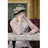 Tallenge Old Masters Collection - Plum Brandy By Édouard Manet - A3 Size Premium Quality Rolled Poster