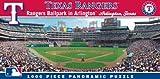 MasterPieces MLB Texas Rangers Stadium Panoramic Jigsaw Puzzle, 1000-Piece