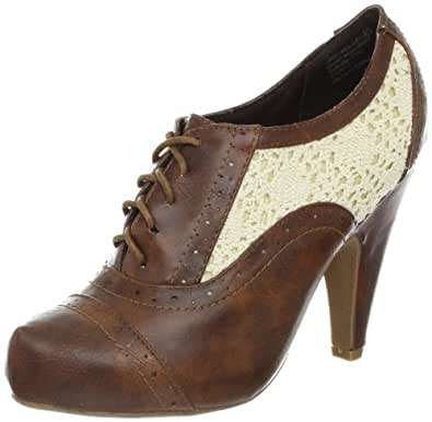 Not Rated Women's Aristocrat Oxford,Tan,6 M US