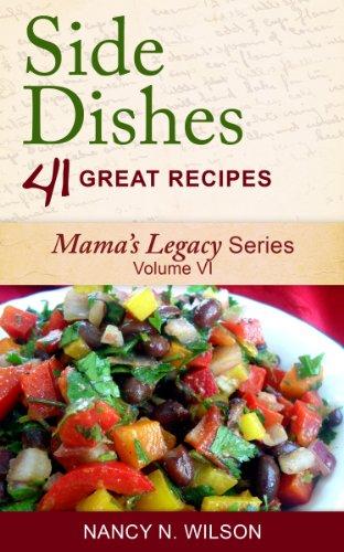 Couverture du livre Side Dishes - 41 Great Recipes