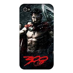 Jugaaduu King Leonidas Spartan Back Cover Case For Apple iPhone 4S