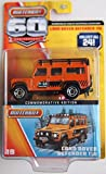 Matchbox 60th Anniversary Land Rover Defender 110 Orange