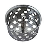 Master Plumber Sink Strainer 1-1/2-Inch Metal Crumb Cup with Post