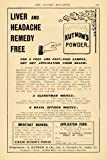 1903 Ad Liver & Headache Remedy Kutnow