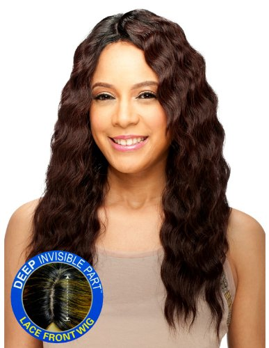 [Model Model Deep Invisible Part Synthetic Lace Wig - Belle-1B] (Belle Wigs)