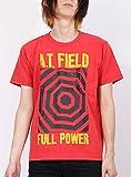 FREAK'S STORE(フリークスストア) エヴァンゲリオン Tシャツ A.T.FIELD(ATフィールド) 半袖 メンズ 男性