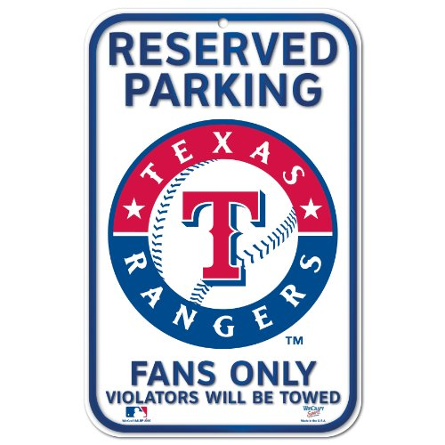 MLB Texas Rangers 11-by-17  Sign at Amazon.com
