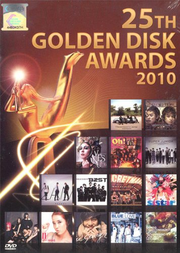25th Golden Disk Awards 2010 (All Region 2-DVD Set)