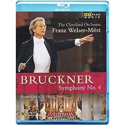 Bruckner: Symphony No 4 [Blu-ray]