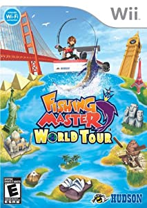 Fishing master world tour nintendo wii for Wii u fishing game