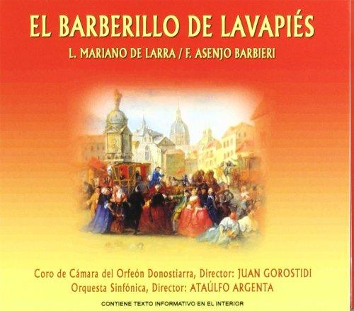 El Barberillo De Lavapies - Luis Mariano de Larra - CD