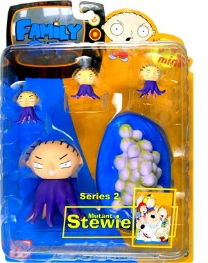 Buy Low Price Mezco Family Guy Series 2 Figure: Mutant Stewie (B0006DNT0E)