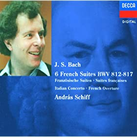 Johann Sebastian Bach: French Suite No.1 in D minor, BWV 812 - 1. Allemande