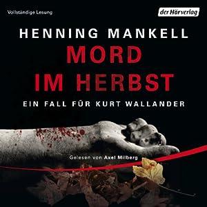 Mord im Herbst Hörbuch